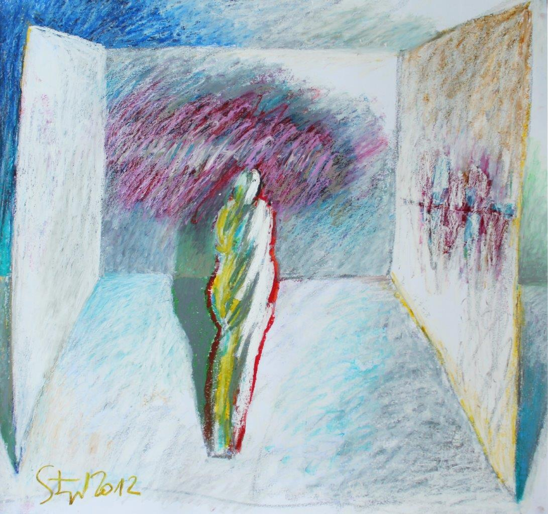 02 untitled - pastel on paper - cm92,5x81,5