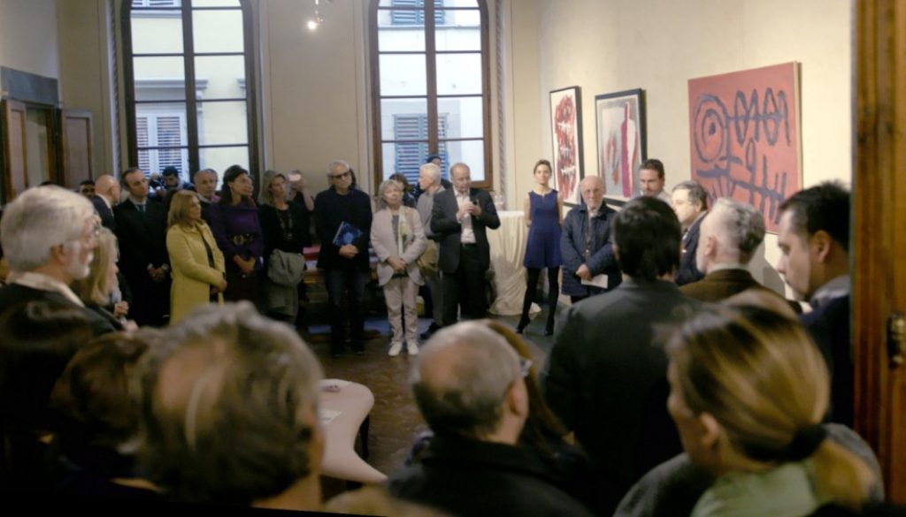 vernissage, Stengel Collection, Palazzo Rosselli, Florence, Italy