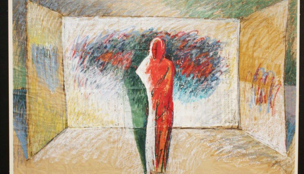 Karl Stengel Seconda variazione di Prologo 2011 tecnica mista